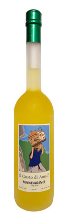 Il Gusto di Amalfi Mandarino Liqueur, Amalfi Coast (70 proof)