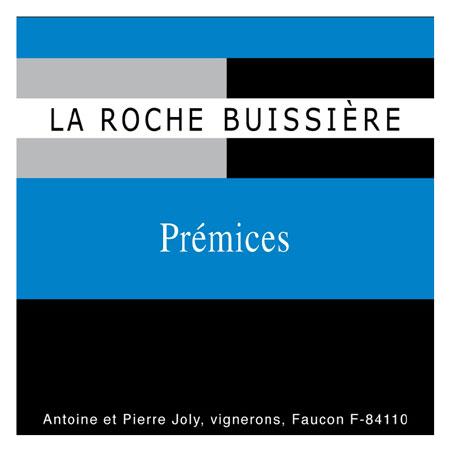 La Roche Buissiere 2019 'Premices' Grenache, Vin de France (Rhone)