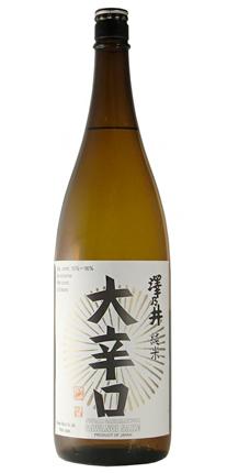 Sawanoi (300 ml) Daikarakuchi (Super Dry +11) Junmai, Tokyo Prefecture