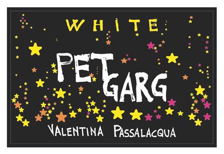 Valentina Passalacqua 2018 'Pet Garg' White Sparkling Bombino, Puglia IGP