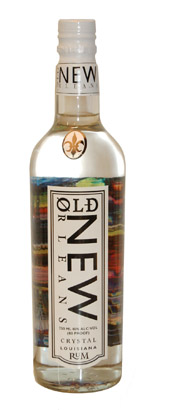 Old New Orleans Rum Crystal White Rum (80 proof)