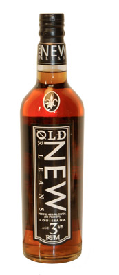 Old New Orleans Amber 3-Year Old Rum (80 proof)