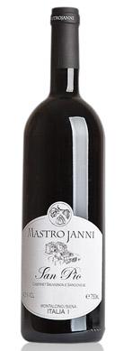 Mastrojanni 2015 'San Pio' (Cabernet Sauvignon/Sangiovese) Toscana IGT